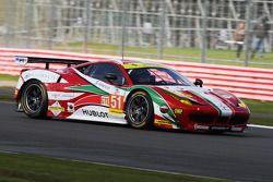 #51 AF Corse, Ferrari F458 Italia: Peter Mann, Raffaele Giammaria, Matteo Cressoni