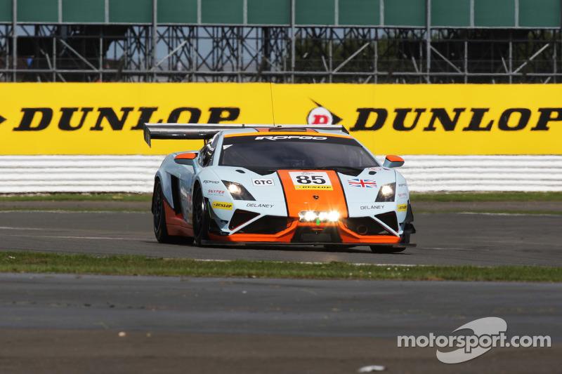 #85 Gulf Racing UK Lamborghini Gallardo LP560 GT3 : Roald Goethe, Daniel Brown, Archie Hamilton