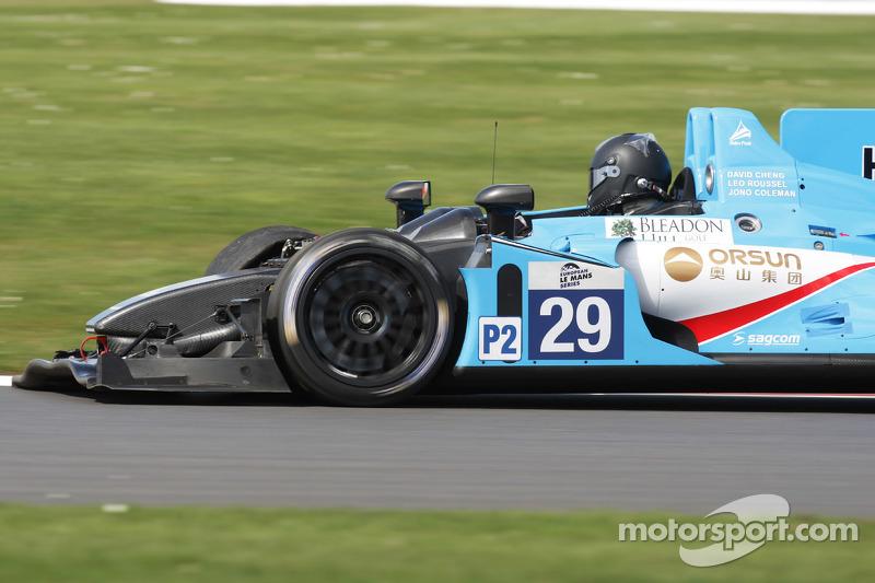 #29 Pegasus Racing, Morgan - Nissan: David Cheng, Leo Roussel, Jonathan Coleman in Schwierigkeiten