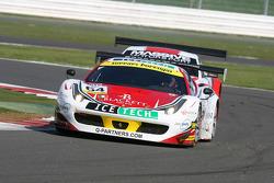 #64 AF Corse Ferrari F458 Italia GT3: Mads Rasmussen, Felipe Barreiros, Франціско Гуедес