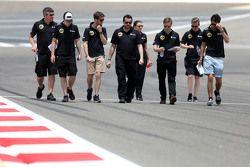 Ромен Грожан, Lotus F1 Team и Джолион Палмер, Lotus F1 Team