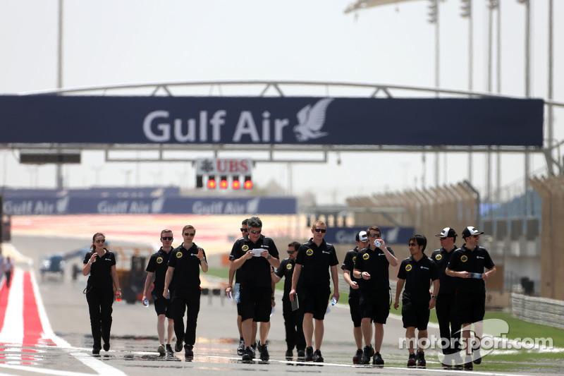 Lotus F1 Team інженери