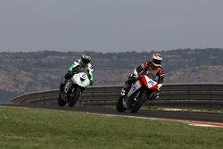 Alex Baldolini, Race Department ATK#25 et Dominic Schmitter, Team Go Eleven