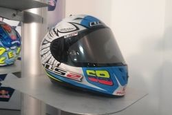 Yonny Hernández, casco GP de Argentina