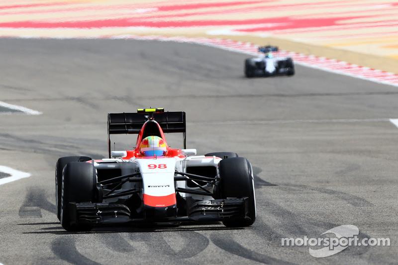 Roberto Merhi Manor Manor F1 Team.