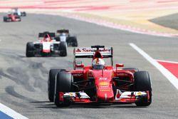 Sebastian Vettel Ferrari SF15-T.