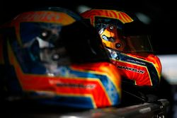 The old and new helmet designs of Artem Markelov, RUSSIAN TIME
