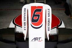 Bodywork of car of Nobuharu Matsushita, ART Grand Prix