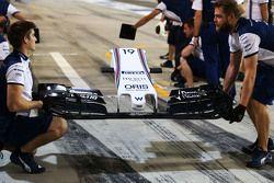 Felipe Massa'nın Williams FW37 ön kanadı, Williams FW37