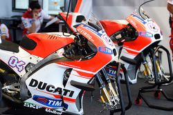Les motos de l'équipe Ducati