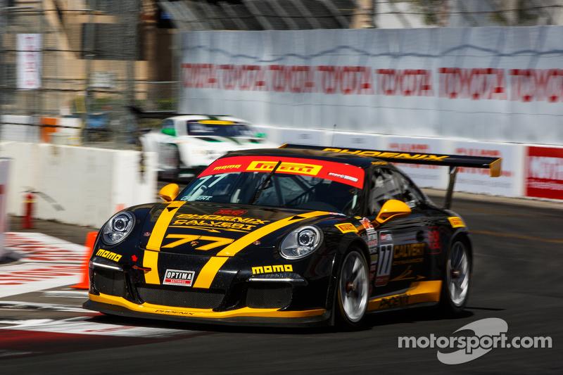 #77 菲尼克斯美洲车队,保时捷911 GT3杯: Preston Calvert