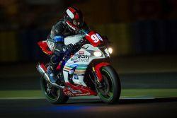 #96 Kawasaki: Fabrice Lanziani, Fabien Parchard, Christophe Brillat