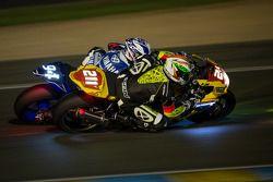 #211 Suzuki: Steve Langlois, Romain Pertet, Geoffroy Dehaye, Benjamin Colliaux, #94 Yamaha: David Ch