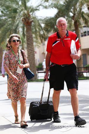 Джон Бут, руководитель команды Manor F1