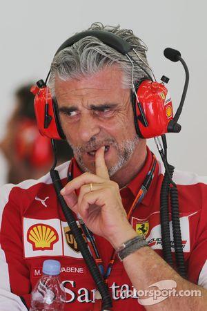 Maurizio Arrivabene, director del Ferrari Team