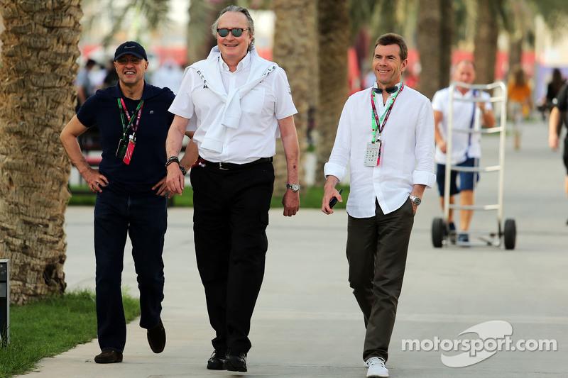 Mansour Ojjeh, McLaren shareholder bersama Paul Stewart