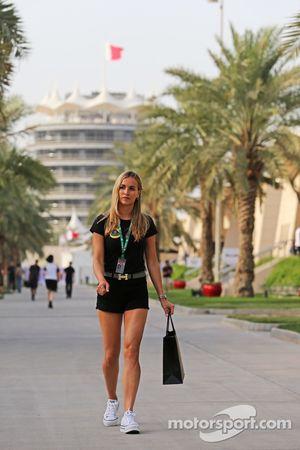 Carmen Jordá, Lotus F1 Desarrollo de Pilotos de Equipo