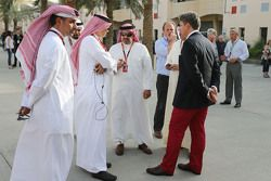 Crown Prince Shaikh Salman bin Isa Hamad Al Khalifa