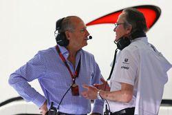 Рон Деннис, McLaren с Мансуром Оджехом, McLaren shareholder