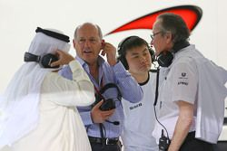 Рон Деннис, McLaren с Мансуром Оджехом, McLaren