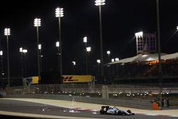 Valtteri Bottas, Williams FW37 sacando chispas