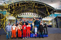 Подиум. Rally Masters Show 2015, Москва