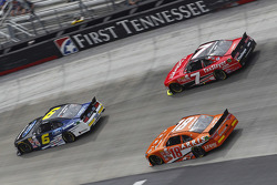 Darrell Wallace Jr., Roush Fenway Racing Ford, Regan Smith, JR Motorsports Chevrolet, Daniel Suarez,