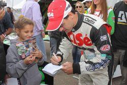 Carlos Okulovich, Maquin Parts Racing, Torino, Autogrammstunde