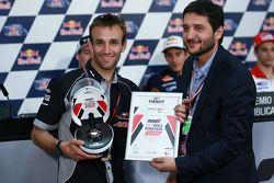 Johann Zarco, Ajo Motorsport, et le trophée de la pole position