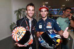 Johann Zarco, Ajo Motorsport et Miguel Oliveira, Ajo Motorsport