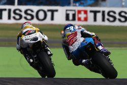 Thomas Luthi, Derendinger Racing Interwetten et Alex Marquez, Estrella Galicia 0,0 Marc VDS