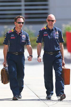 Christian Horner, Red Bull Racing, Teamchef, mit Adrian Newey, Red Bull Racing, Chefdesigner