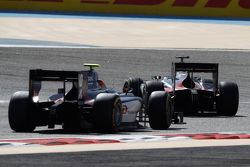 Mitch Evans, RUSSIAN TIME and Artem Markelov, RUSSIAN TIME