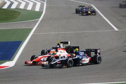 André Negrao, Arden International and Sergio Canamasas, MP Motorsport