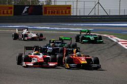 Daniel De Jong, MP Motorsport and Jordan King, Racing Engineering
