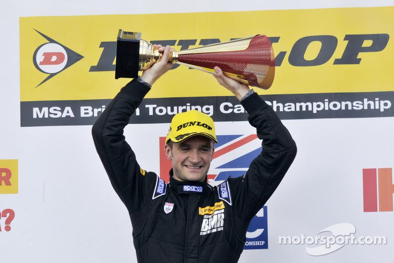 Podium: race winner Colin Turkington