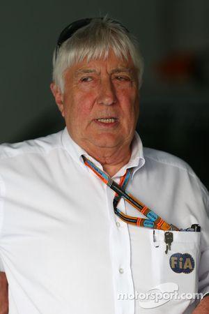 Herbie Blash, Delegado de FIA