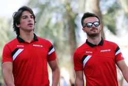 Roberto Merhi und Will Stevens, Manor F1 Team