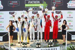 GTLM Podium: Third place #3 Corvette Racing Chevrolet Corvette C7.R: Jan Magnussen, Antonio Garcia,