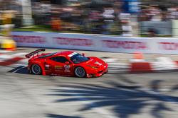 #62 Risi Competizione, Ferrari F458: Pierre Kaffer, Giancarlo Fisichella, Olivier Beretta