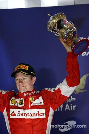 Segundo lugar, Kimi Raikkonen, Ferrari