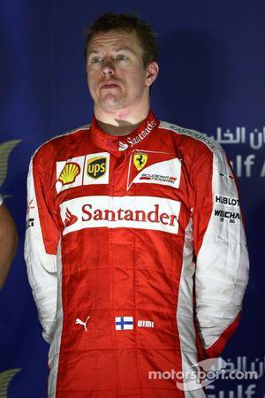 ikinci sıra Kimi Raikkonen, Ferrari