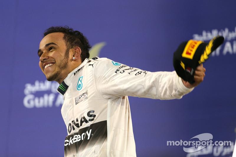 Льюис Хэмилтон, Гран При Бахрейна-2015