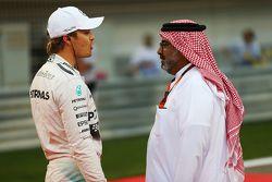 Nico Rosberg, Mercedes AMG F1, in der Startaufstellung