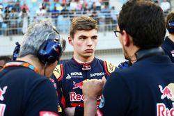 Max Verstappen, Scuderia Toro Rosso, in der Startaufstellung
