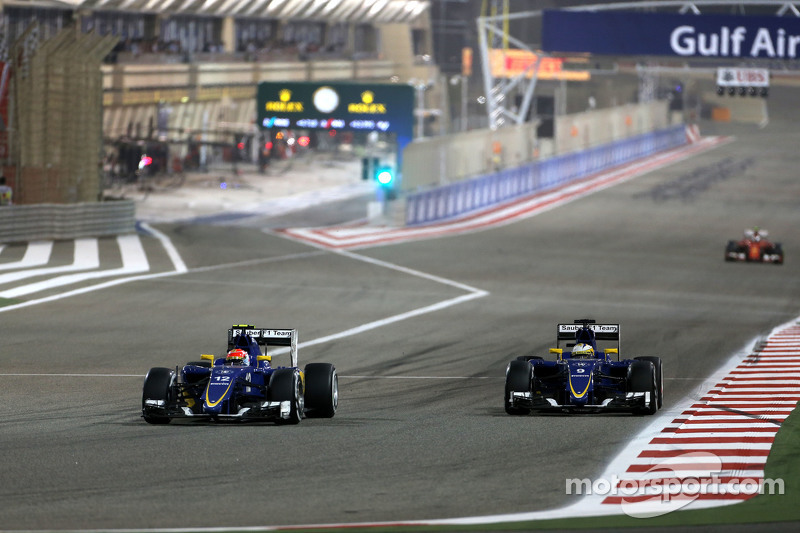Felipe Nasr, Sauber F1 Team, und Marcus Ericsson, Sauber F1 Team