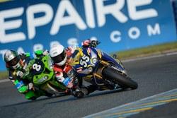 #55 Honda: Valentin Debise, Greg Junod, Louis Bulle