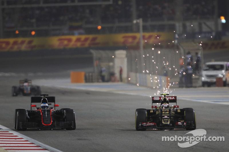 Гран При Бахрейна, 9 апреля. Борьба Фернандо Алонсо и Пастора Мальдонадо