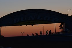 Sunrise over the Dunlop Bridge