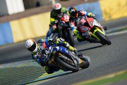 #14 Yamaha : Gianluca Vizzielo, Marko Jerman, Anthony dos Santos